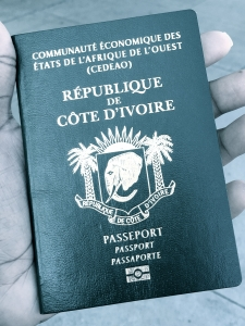 Passport Côte d'Ivoire