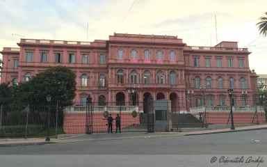 Las Casa Rosada, Buenos Aires